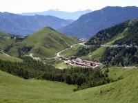 合歡主峰步道望山谷<br/> 攝影:老山羊部落格