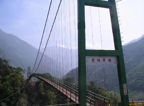 東埔溫泉-東埔吊橋
