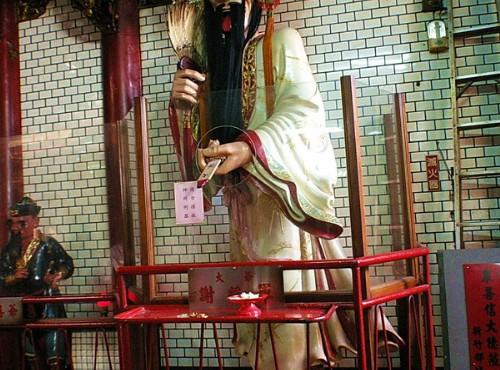 Hsinchu City God Temple-謝將軍塑像