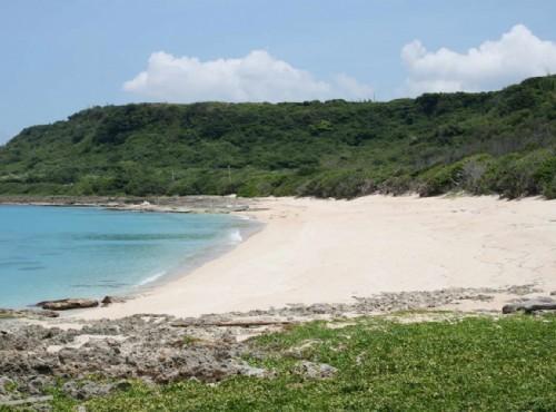 砂島生態保護區-砂島的沙灘、山色、海洋景觀