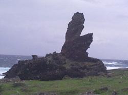蘭嶼鱷魚岩