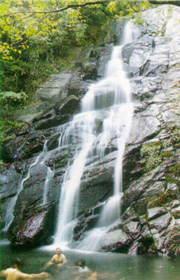 青山瀑布-青山瀑布