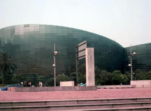 上海東方藝術中心-外觀