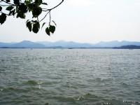 浩瀚湖面<br/> 攝影:余錫堅