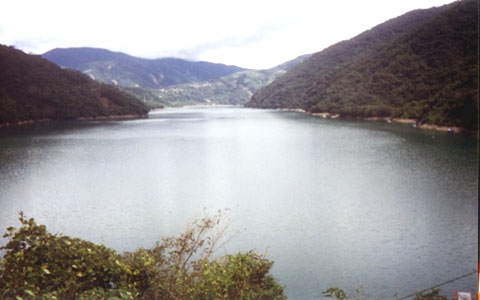 明湖水庫-明湖水庫湖景