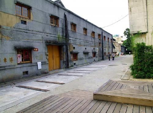 华山1914文化创意产业园区-中四馆外观