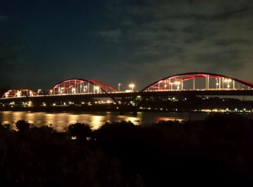 关渡大桥-淡水关渡大桥夜景