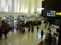 機場大廳<br/> 攝影:Eva隨手拍