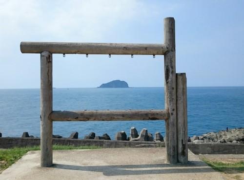 基隆嶼-從潮境公園看基隆嶼