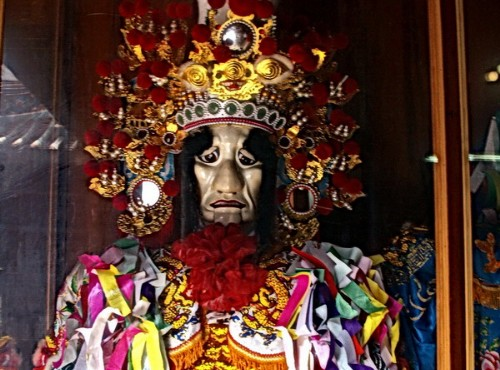 Hsinchu City God Temple-馬將軍塑像