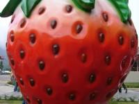 大草莓裝飾<br/> 攝影:林玉婷