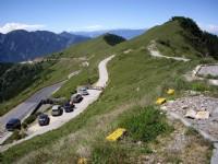 合歡主峰步道與山巒的交織<br/> 攝影:老山羊部落格