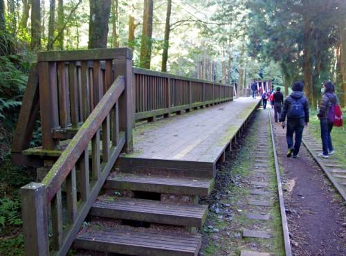 水山巨木步道-木造月台
