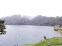 向山自行車道-水社壩堰堤段<br/> 攝影:Eva隨手拍