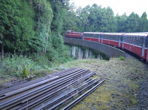 Alishan Forest Recreation Area-201407阿里山鐵路祝山線