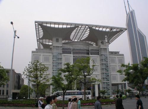 上海城市規劃展示館-上海都市規劃展示館