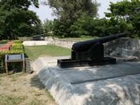 兩座大砲<br/> 攝影:老山羊部落格
