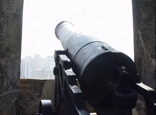 澳門博物館大炮台-澳門博物館大炮台
