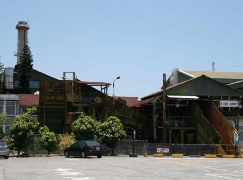 花莲观光糖厂(光复糖厂)-舊廠房