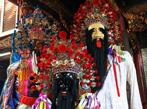 Hsinchu City God Temple-陰陽司公& 七爺八爺