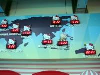 第二航廈-可愛的各國時間表<br/> 攝影:amo