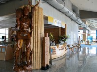 木雕藝術與服務台<br/> 攝影:老山羊部落格