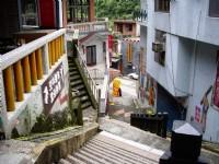 沿山勢而建之街景<br/> 攝影:老山羊部落格