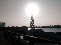 北門遊客中心+水晶教堂<br/> 攝影:晏伶