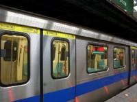 往小碧潭站列車<br/> 攝影:Eva隨手拍