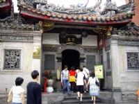 龍山寺參拜入口<br/> 攝影:老山羊部落格