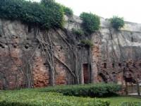 安平古堡外城遺跡<br/> 攝影:陳美吟