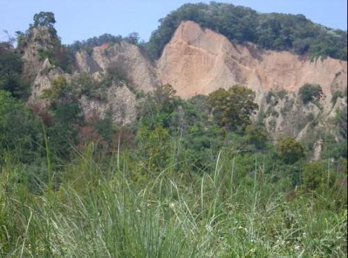 火炎山自然生態保留園區-火炎山遠景