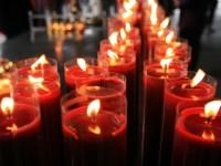 長排蠟燭<br/> 攝影:陳銘祥