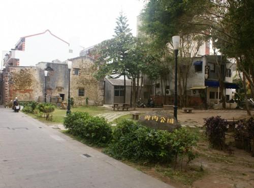 馬公街景-街內公園
