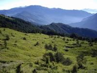 滑雪場望中央山脈北脊景觀<br/> 攝影:老山羊部落格