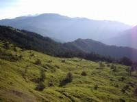 合歡山山莊觀中央山脈北脊景觀<br/> 攝影:老山羊部落格
