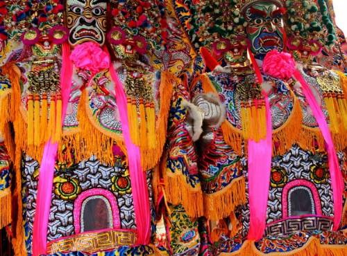 Hsinchu City God Temple-色彩鮮豔神像