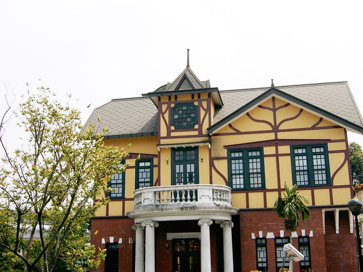 欧式风格的建筑风味 摄影:曾婉玲图片