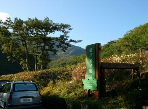 知本国家森林游乐区-藥用植物園大門口