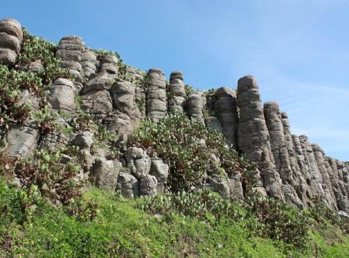 桶盤地質公園-桶盤嶼柱狀玄武岩