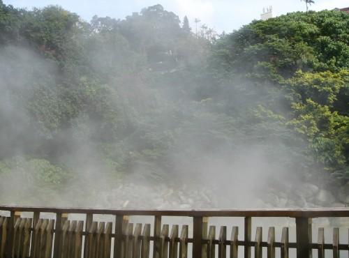地熱谷(地熱谷景觀公園)-熱氣瀰漫