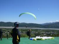鹿野高台飛行傘<br/> 攝影:旅遊王攝影組