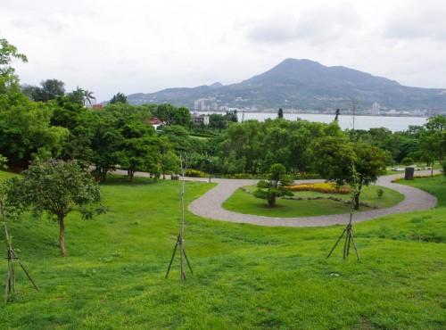 和平公園-於和平公園眺望觀音山