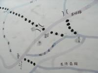 挑炭古道路線圖<br/> 攝影:陳美吟
