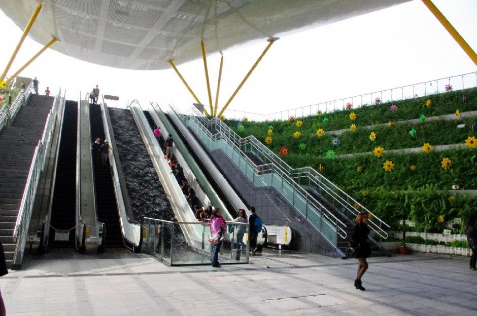 高捷中央公園站/Eva隨手拍