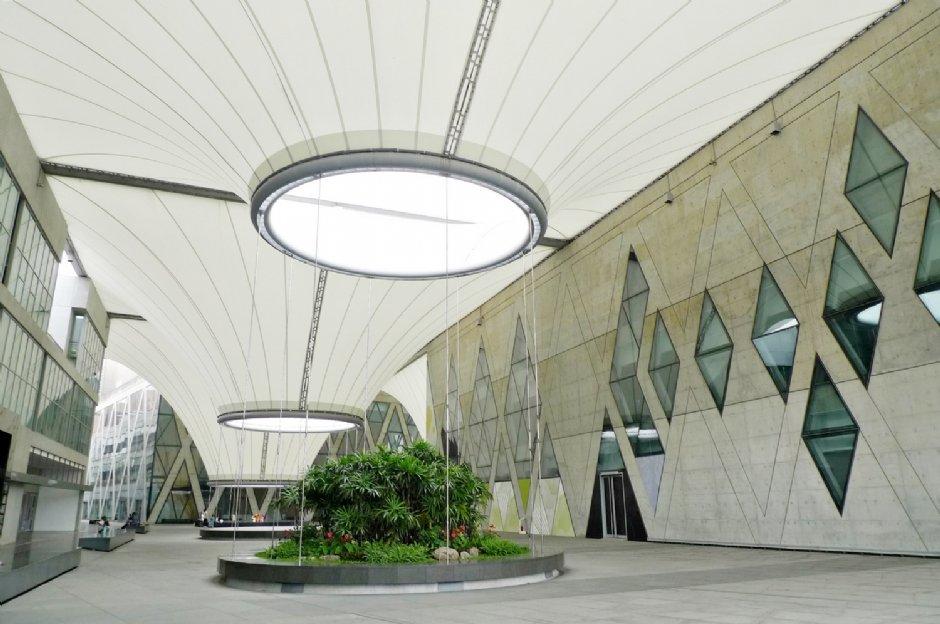 大東藝術中心由台灣及荷蘭設計師共同設計/Eva隨手拍