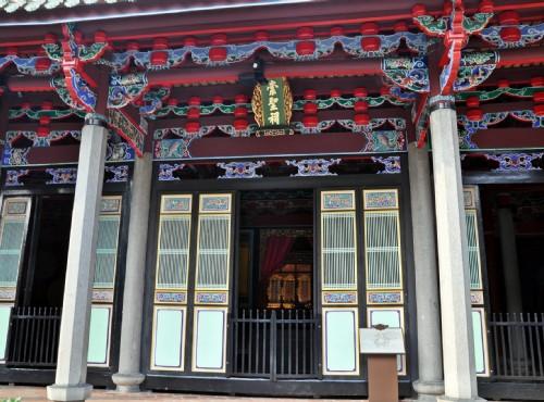 依照傳統建築規劃的台北孔廟/Kavin