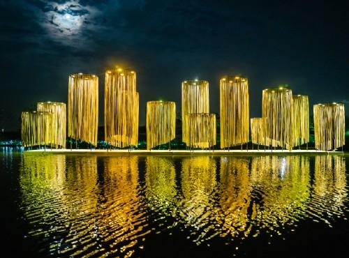 月津港燈節資料照片 / 臺南市政府文化局提供