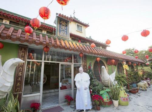 鹽水天主堂內的祭天殿 / 臺南市政府觀光旅遊局 提供