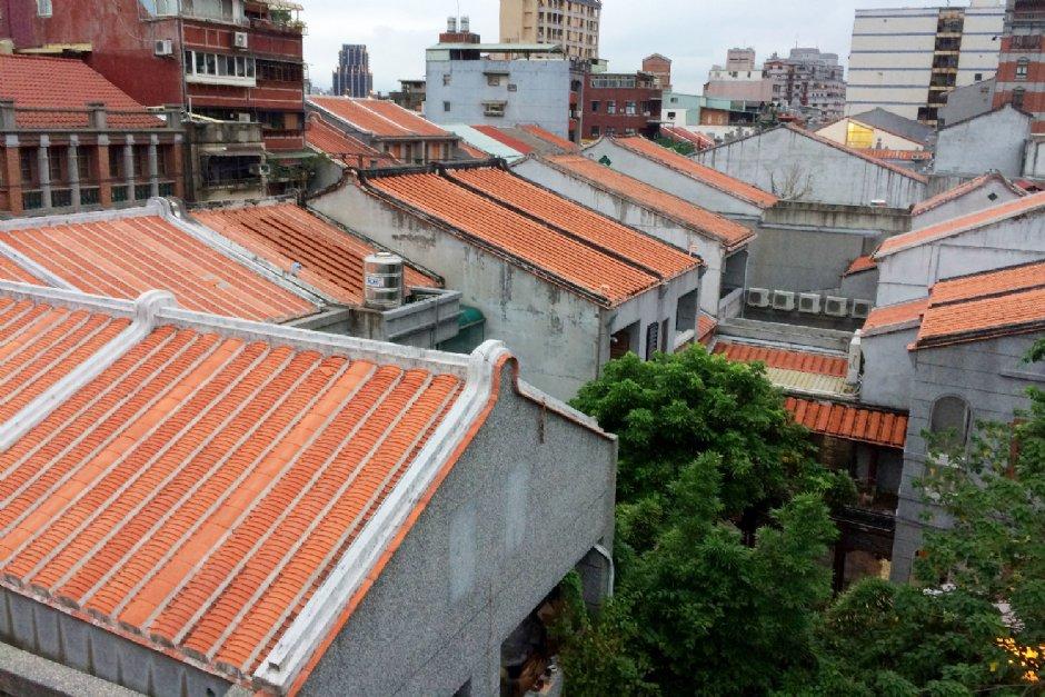 迪化207博物館俯瞰大稻埕街景/Eva隨手拍